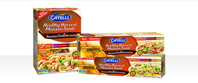 Catelli® Healthy Harvest® Ancient Grains pasta coupon