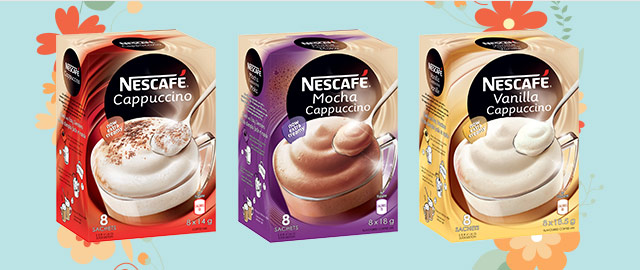 Buy 2: NESCAFÉ Cappuccino Products  coupon