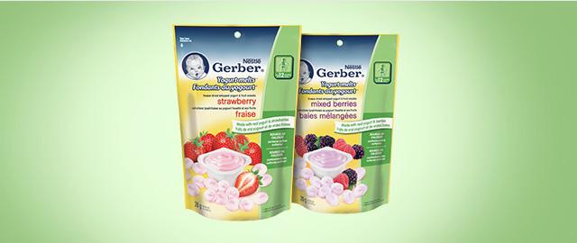 Buy 2: NESTLÉ GERBER® Yogurt Melts®  coupon