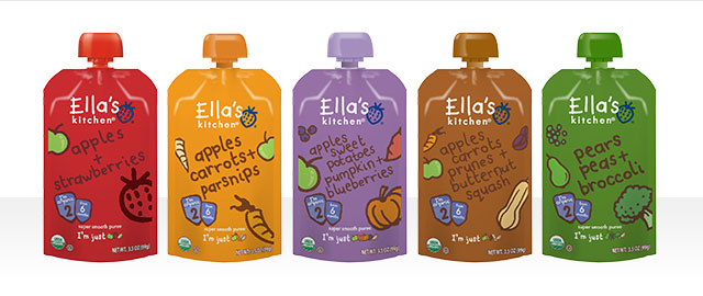 At Walmart: Buy 5: Ella's Kitchen® Baby Food products coupon