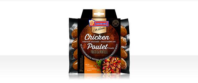 Saucissons de poulet fumés à l'Italienne Doux Schneiders®  coupon