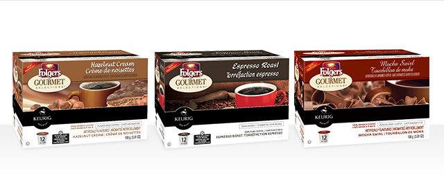 Buy 3: Folgers® K-Cup® Packs coupon