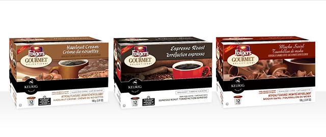 Achetez 3 : boîtes de portions K-Cup® Folgers®  coupon