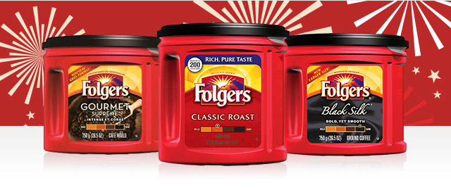 Buy 2: Folgers® Ground Coffee coupon