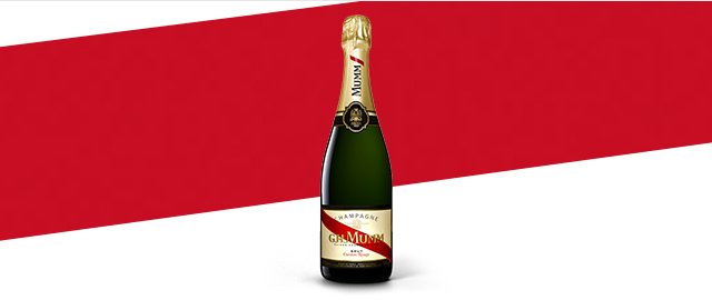 G.H. Mumm Cordon Rouge Brut Champagne coupon