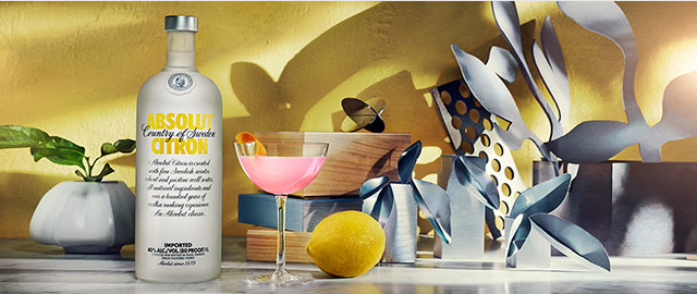 Absolut® Citron Vodka*  coupon