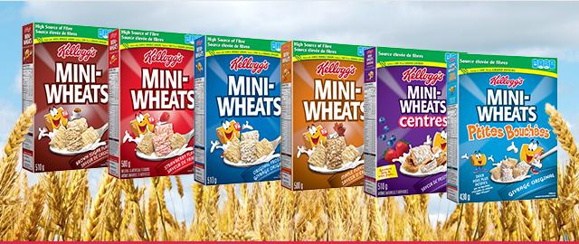 Céréales Mini-Wheats* coupon