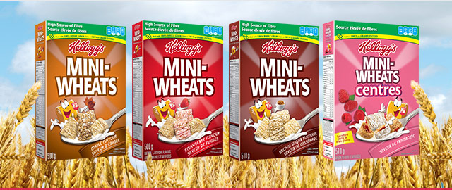 Mini-Wheats® de Kellogg's coupon