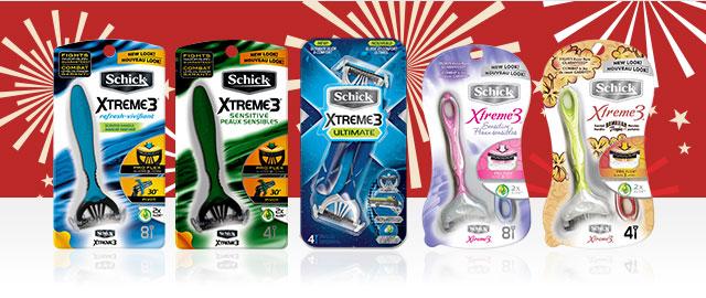 Schick® Xtreme3® Razors coupon