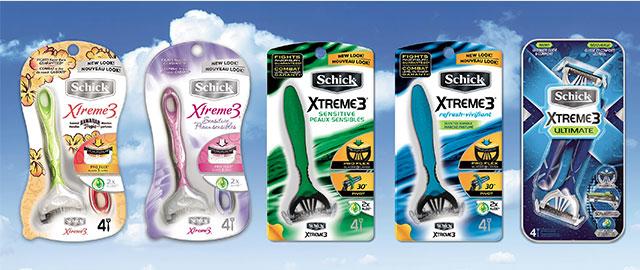 Schick® Xtreme3® Rasoirs coupon