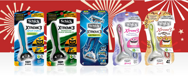 Schick® Xtreme3® Rasoirs coupon