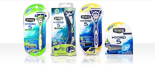 Schick Hydro 5 Razor or Refills coupon