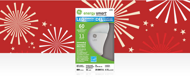 Ampoules LED GE coupon
