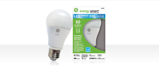 GE LED Light Bulbs coupon