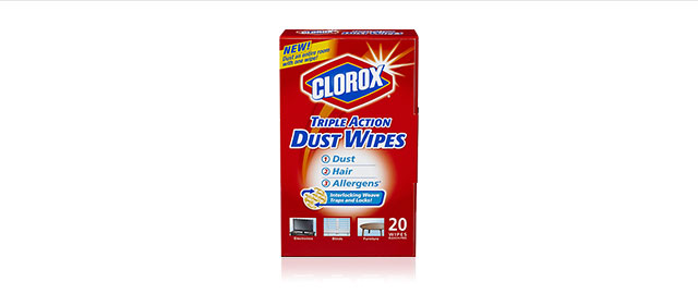 Clorox® Triple Action Dust Wipes coupon