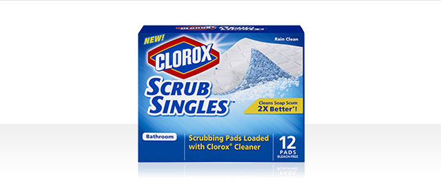Clorox® ScrubSingles™ Bathroom Pads coupon