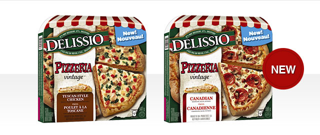Select DELISSIO® PIZZERIA VINTAGE® coupon