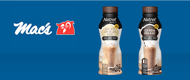 At Mac's Convenience Stores: Natrel Iced Coffee coupon