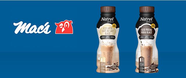 Dans les dépanneurs Mac's: Natrel Café Glacé coupon