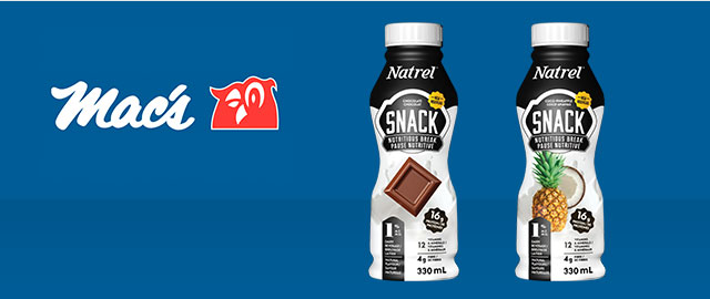 At Mac's Convenience Stores: Natrel Snack coupon