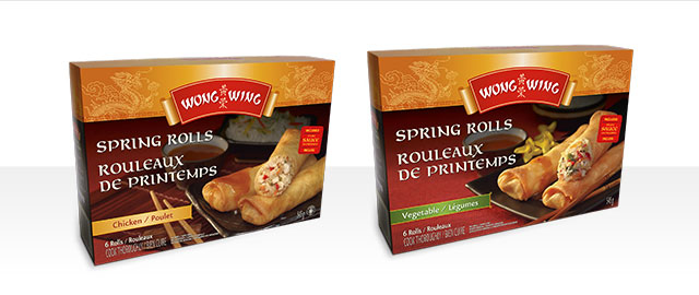 Wong Wing® Spring Rolls coupon