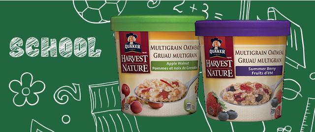 Buy 2: Quaker® Multigrain Oatmeal Cups coupon