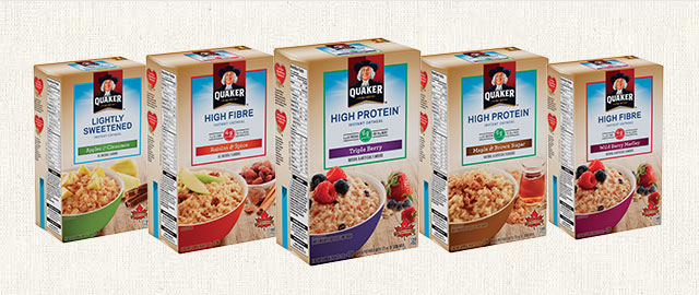 Select Quaker® Instant Oatmeal products coupon