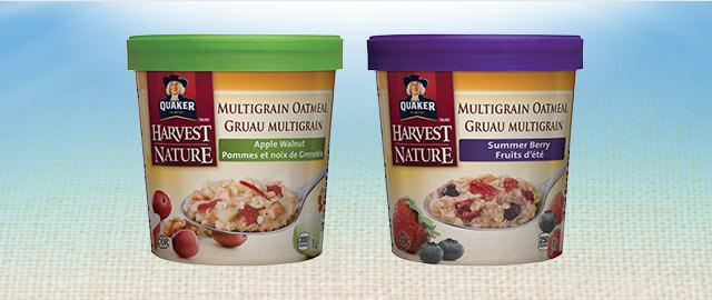 Buy 3: Quaker® Multigrain Oatmeal Cups coupon