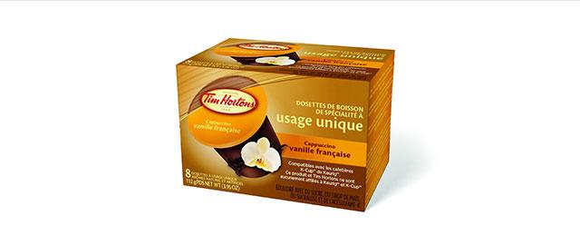 Chez certains détaillants: Cappuccino vanille française de Tim Hortons  coupon
