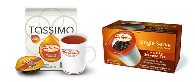 At Select Retailers: Tim Hortons Steeped Tea coupon