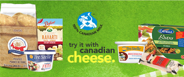 Try It With Canadian Cheese coupon