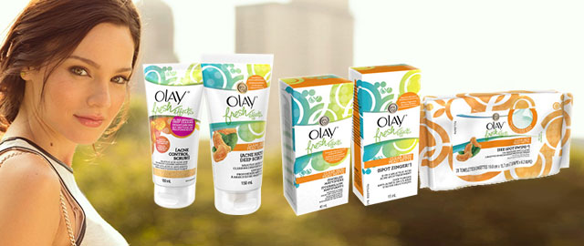 FR - Olay® Fresh Effects Product coupon