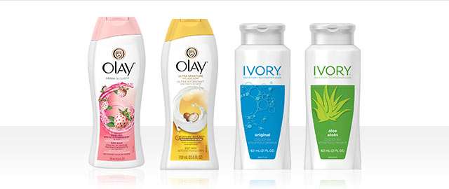 Buy 2: Olay® or Ivory® Bar or Body Wash Products coupon