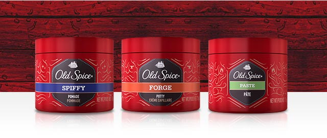 Old Spice® Hair Styling products coupon