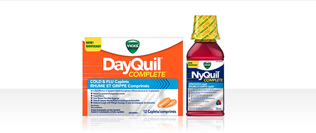 Vicks® DayQuil™ Complete or NyQuil™ Complete products coupon
