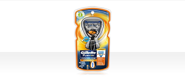 Gillette® Fusion Proglide Razor with Flexiball coupon