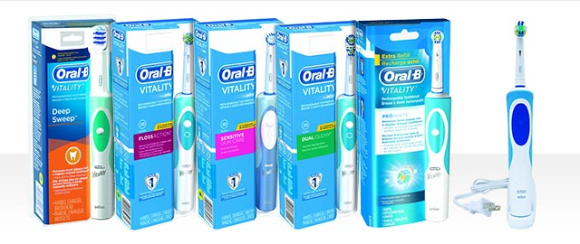 Oral-B® Vitality™ Electric Toothbrush coupon