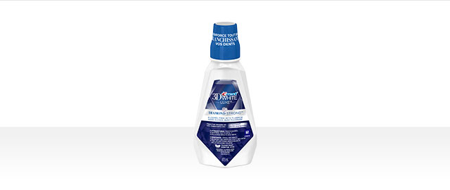 Crest® 3D White Luxe Diamond Strong Mouthwash coupon
