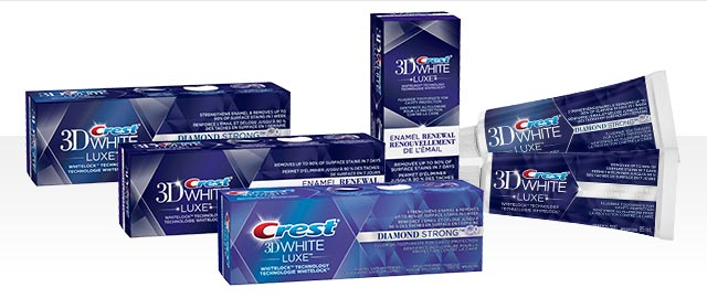 Crest® 3D White Luxe Diamond Strong Toothpaste coupon