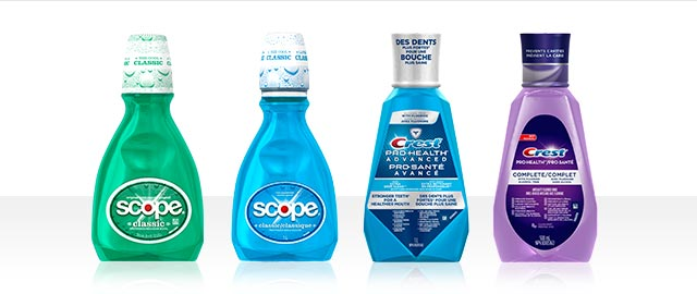 Scope® or Crest® Rinse coupon
