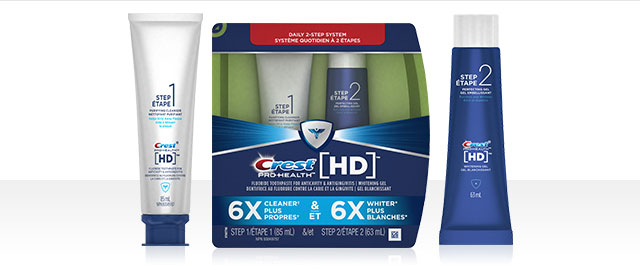 Crest® PRO-HEALTH HD 2 Step Toothpaste System coupon