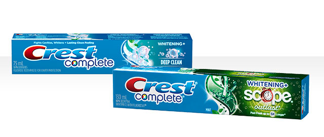 Crest® Complete Toothpaste coupon