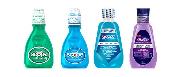 Crest® or Scope® Rinse coupon