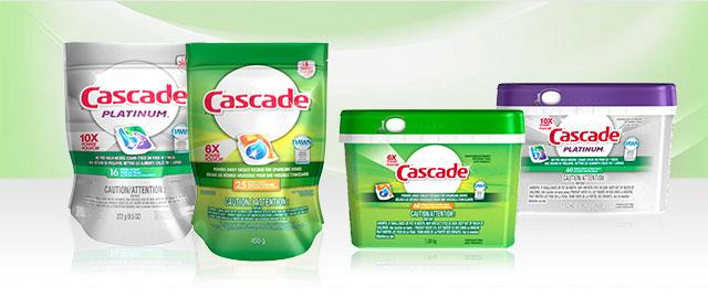 Produits Cascade® coupon