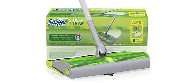 Swiffer® Sweep & Trap™ Starter Kit coupon