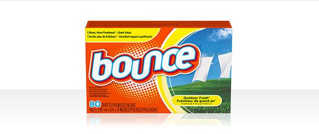 Feuilles assouplissantes Bounce® coupon
