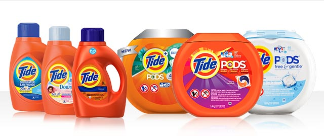 Buy 2: Tide® PODS™ or Tide® Liquid Detergent coupon