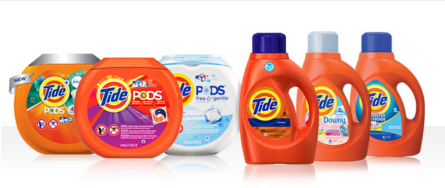 JUST ADDED! Buy 2: Tide® PODS™ or Tide® Liquid Detergent coupon