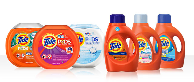 Buy 2: Tide® PODS™ or Tide® Liquid Detergent coupon