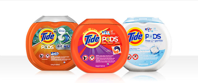 Tide® Pods coupon